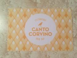 canto corvino business card