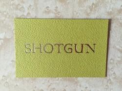 Shotgun business card