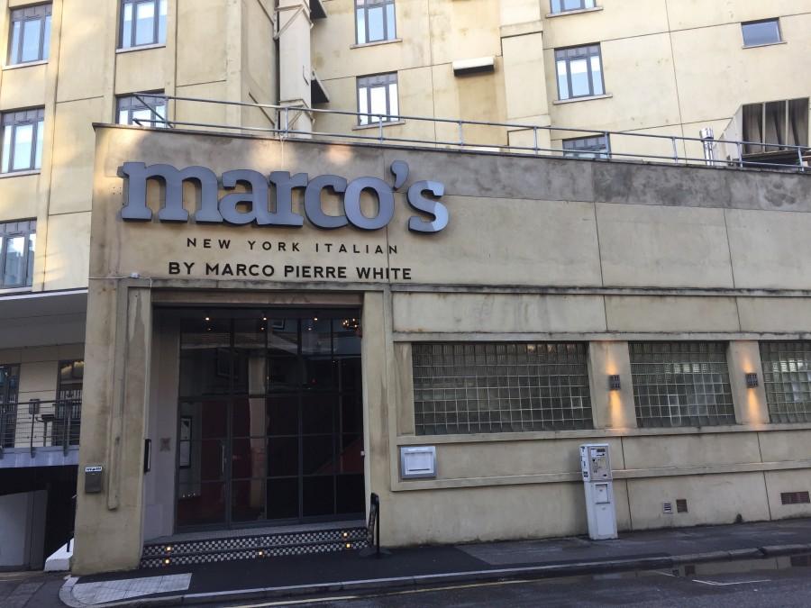 Marco's outside
