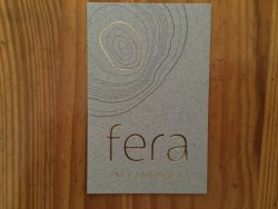 Fera at Claridge's business card