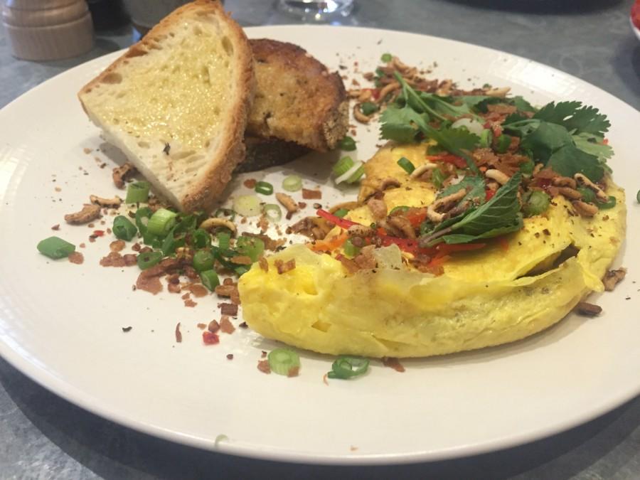 The Modern Pantry omelette
