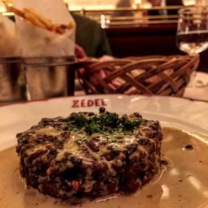 Steak hache Zedel
