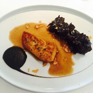 Foie gras at Alain Ducasse at the Dorchester