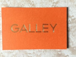 Galley business card