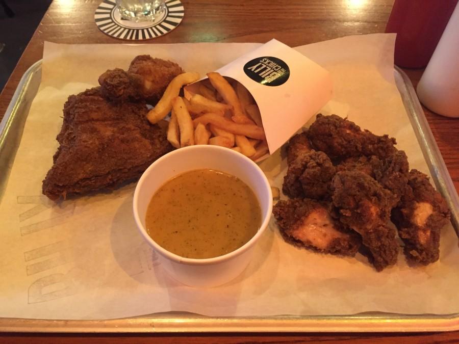 Billy & The Chicks fried chicken
