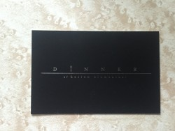 Dinner by Heston business card