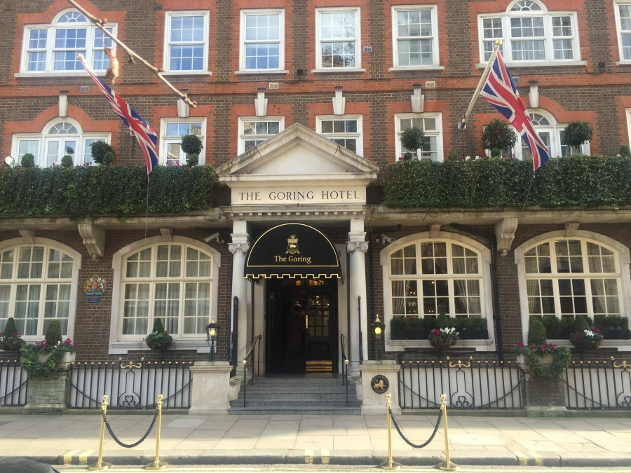 The Goring outside