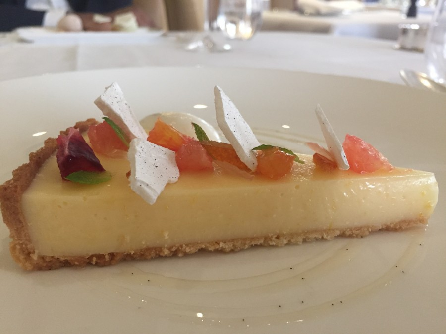 The Goring lemon tart