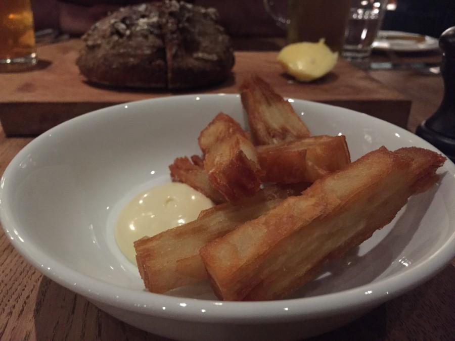 Pitt Cue potato cakes