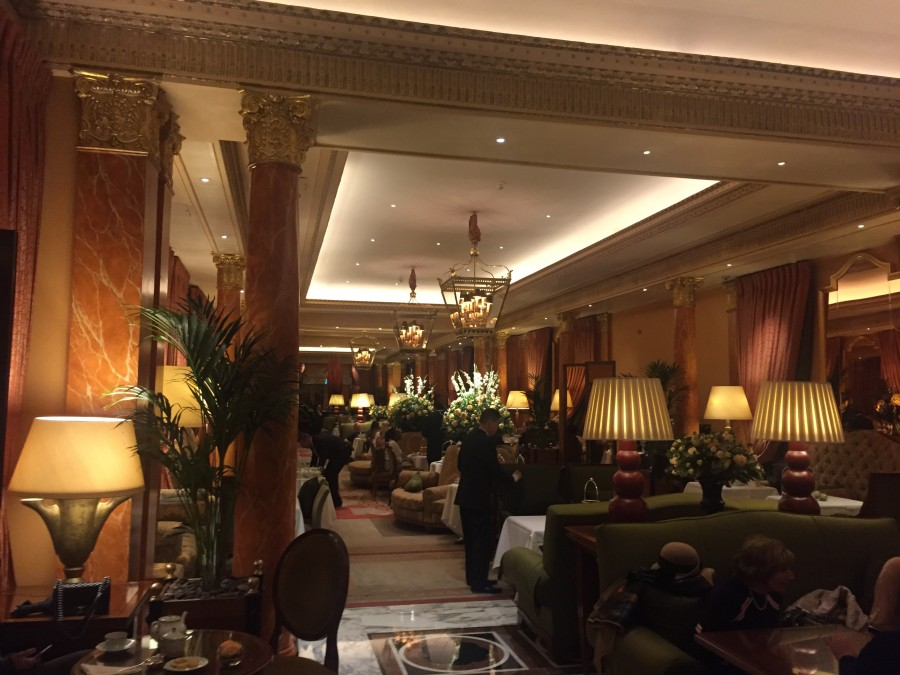 The Dorchester inside