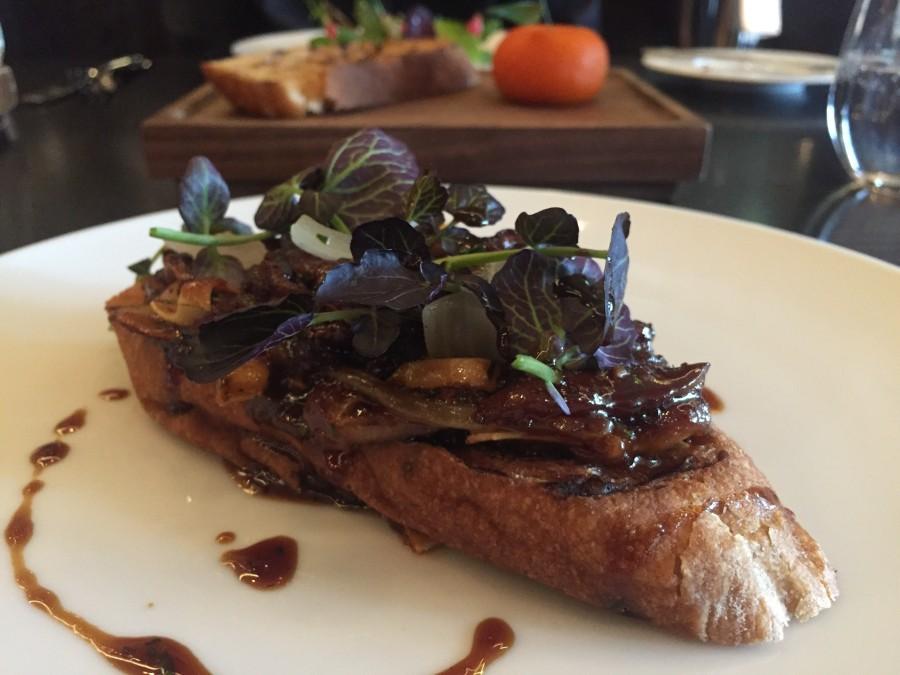 Dinner by Heston pig ears on toast