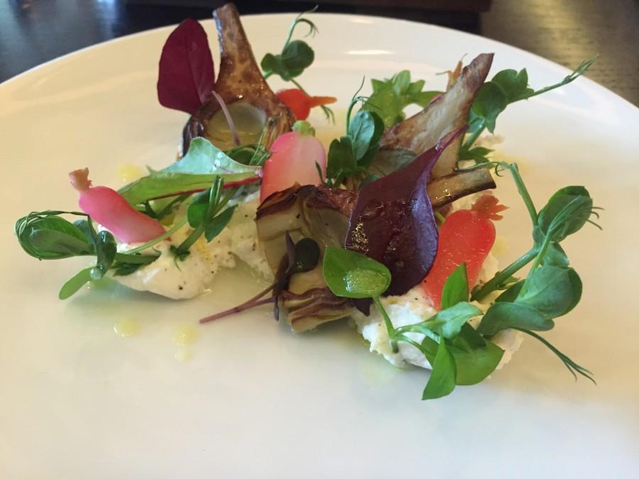 Dinner by Heston lemon salad