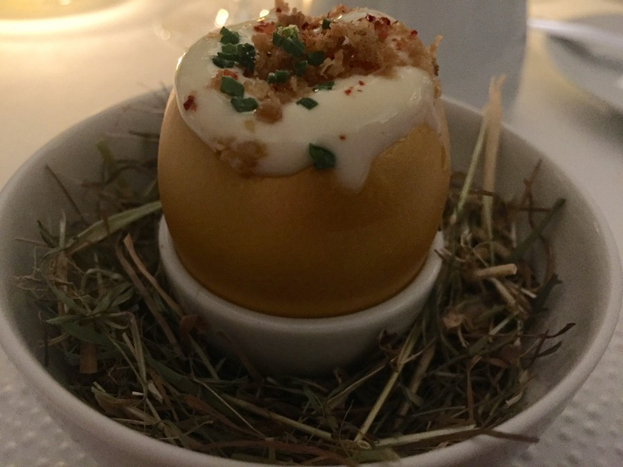 The Connaught egg