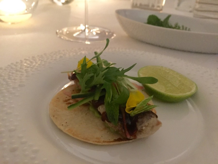 The Connaught taco