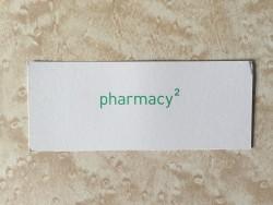 Pharmacy 2 business card