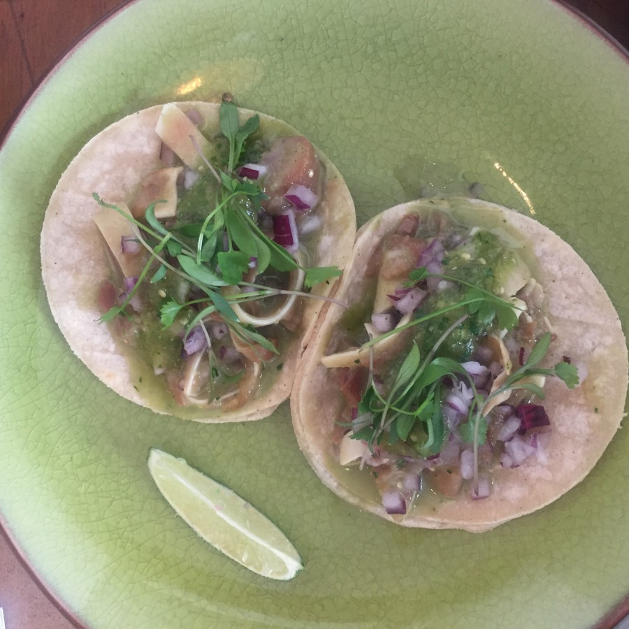 Santo Remedio pig ear tacos