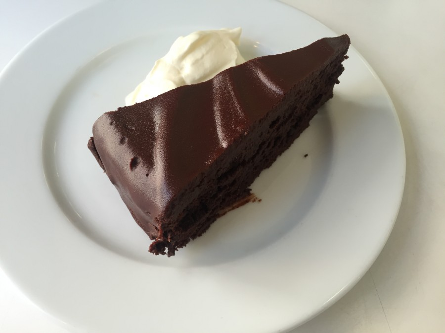 Rochelle Canteen chocolate cake