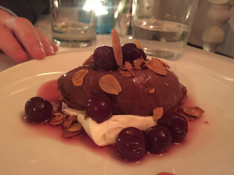 Six Portland Road chocolate mousse