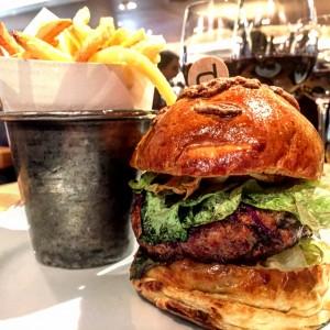 Bar Boulud The Piggie Burger