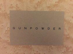 Gunpowder business card