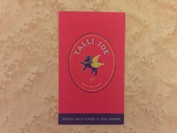 Talli Joe business card