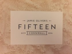 Fifteen business card