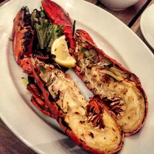 Lobster at Boundary