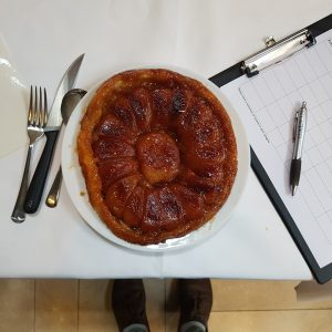 Tartes Tatin competition