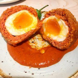 Scotch egg at Bronte